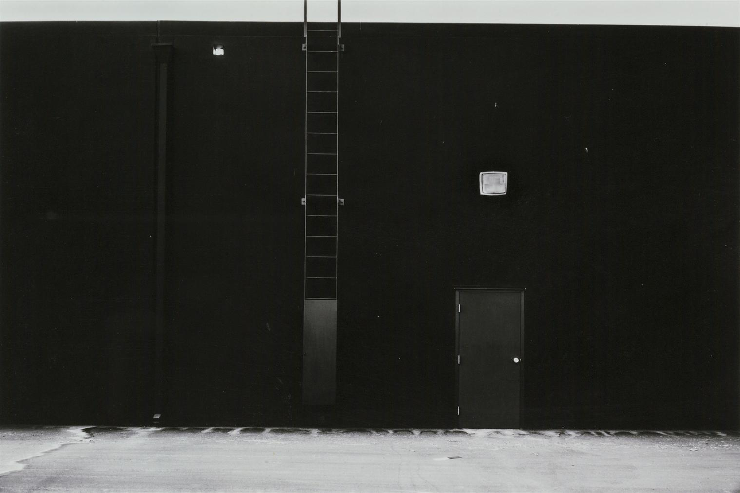 Lewis Baltz-East Wall, Mcgaw Laboratories, 1821 Langley, Costa Mesa #24 From The New Industrial Parks Near Irvine, California-1974