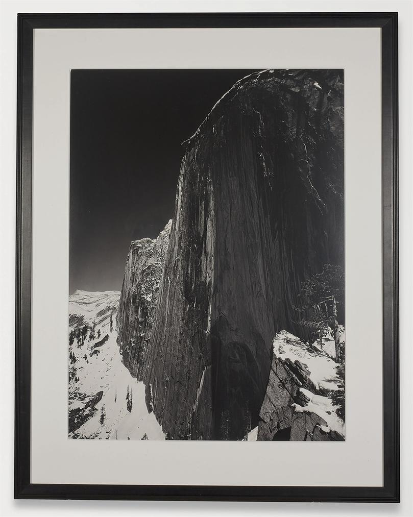 Ansel Adams-Monolith, The Face Of Half Dome, Yosemite National Park, California-1927