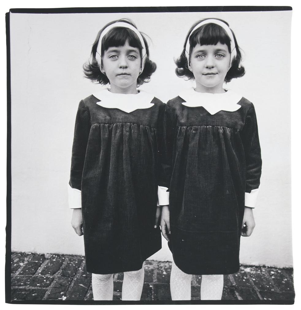 Diane Arbus-Identical Twins, Roselle, N.J.-1966
