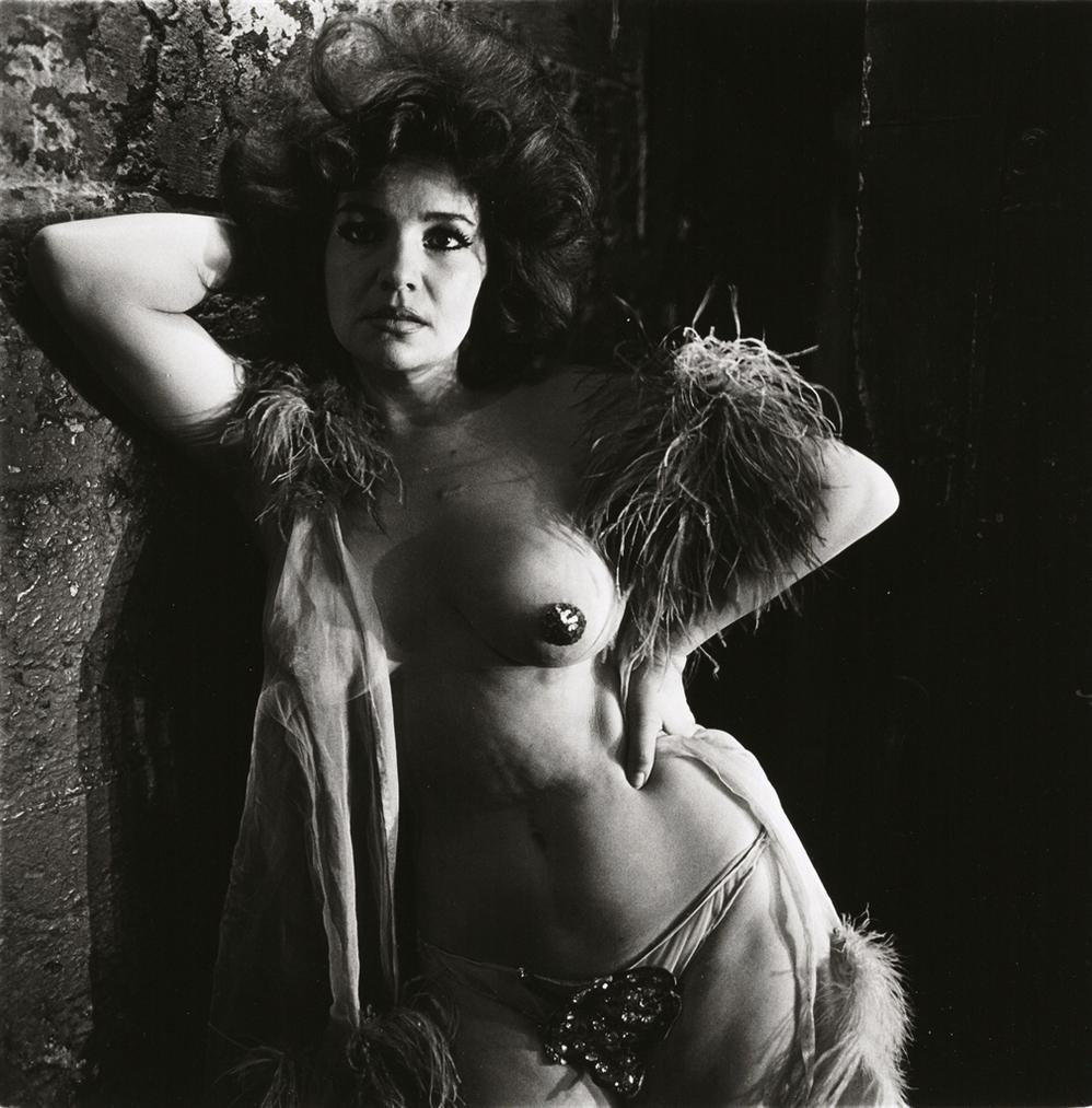 Diane Arbus-Blaze Starr Backstage, Baltimore, Md.-1964