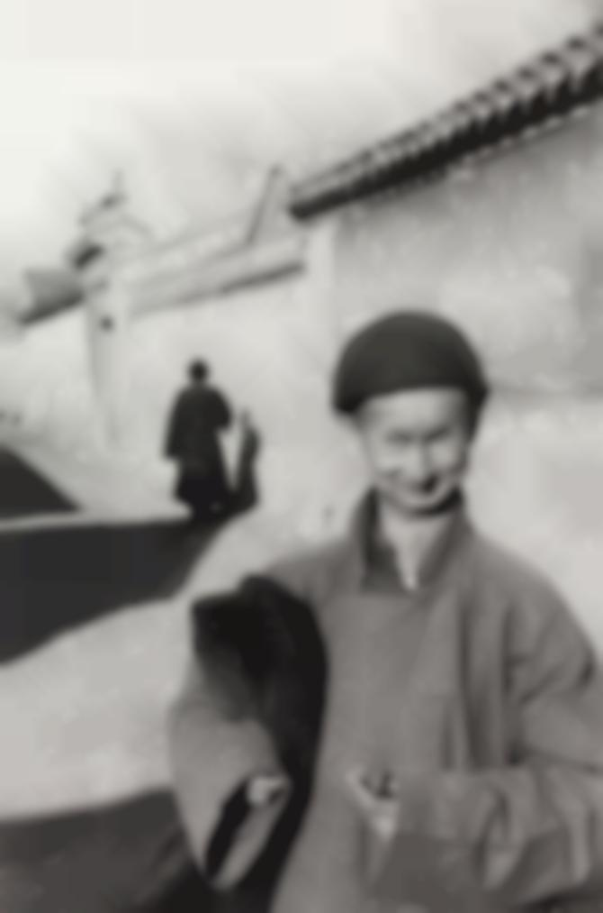 Henri Cartier-Bresson-Eunuch Of The Imperial Court, Peking-1949