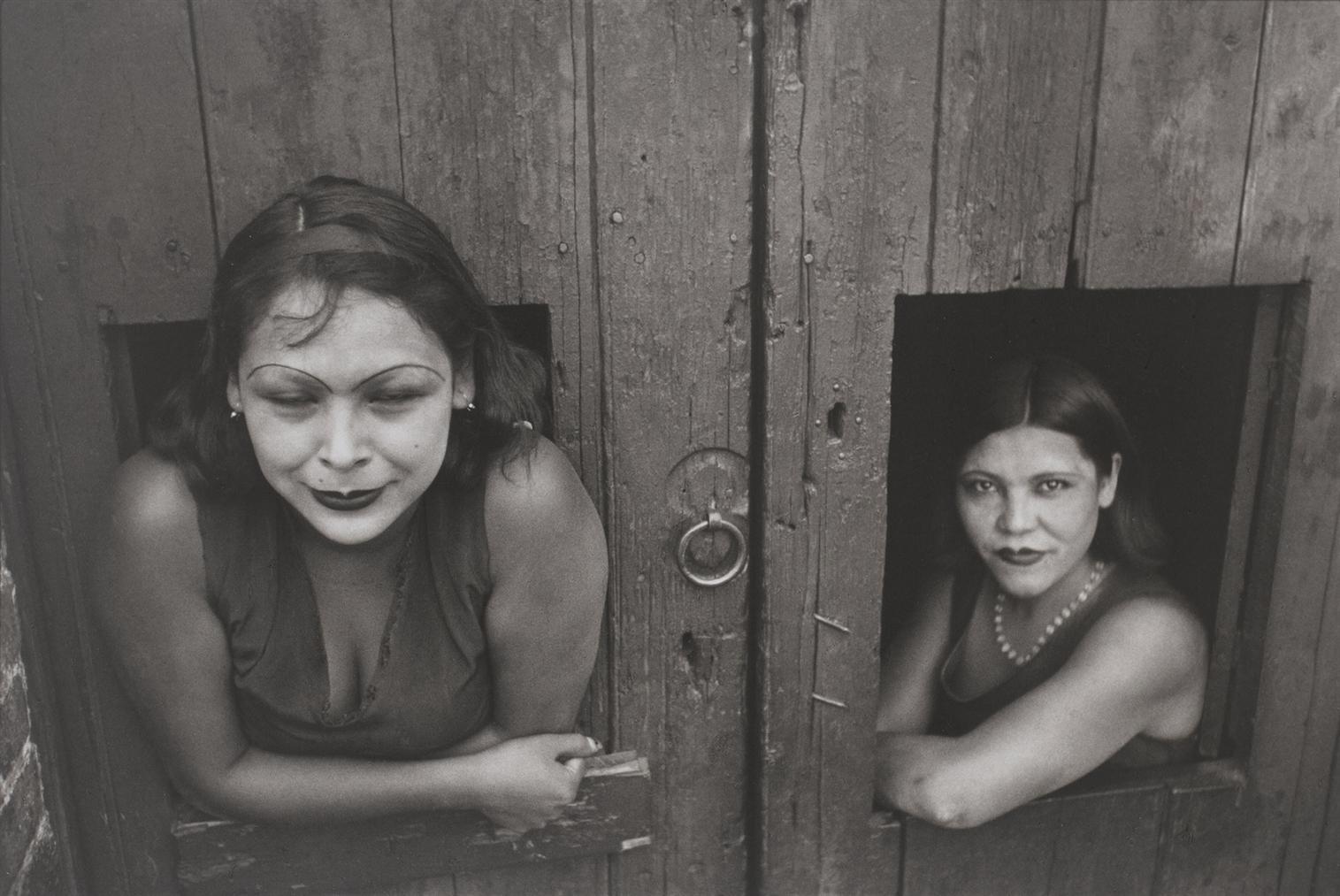 Henri Cartier-Bresson-Calle Cuauhtemoctzin, Mexico City, 1934-1935-