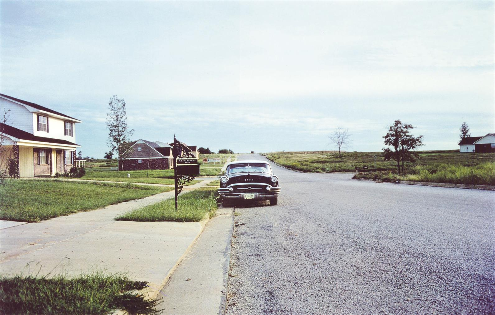 William Eggleston-Southern Environs Of Memphis, 1969-1970-