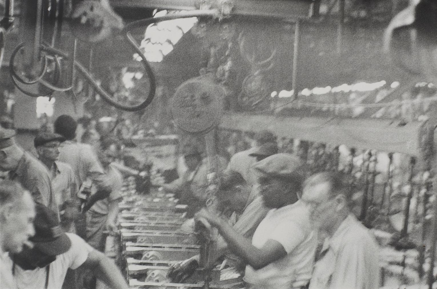 Robert Frank-River Rouge Assembly Line - Detroit-1955