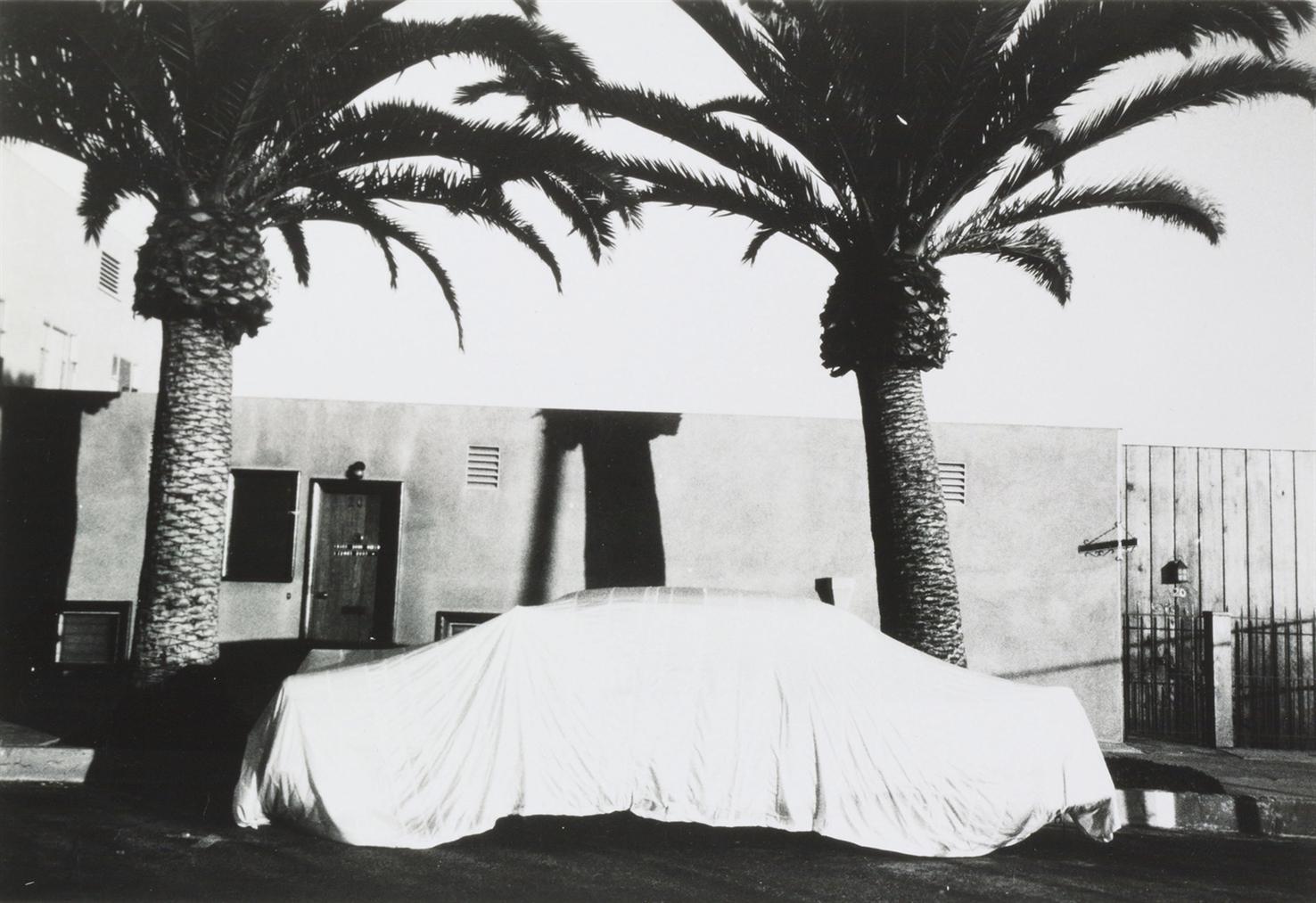 Robert Frank-Covered Car, Long Beach, California-1956