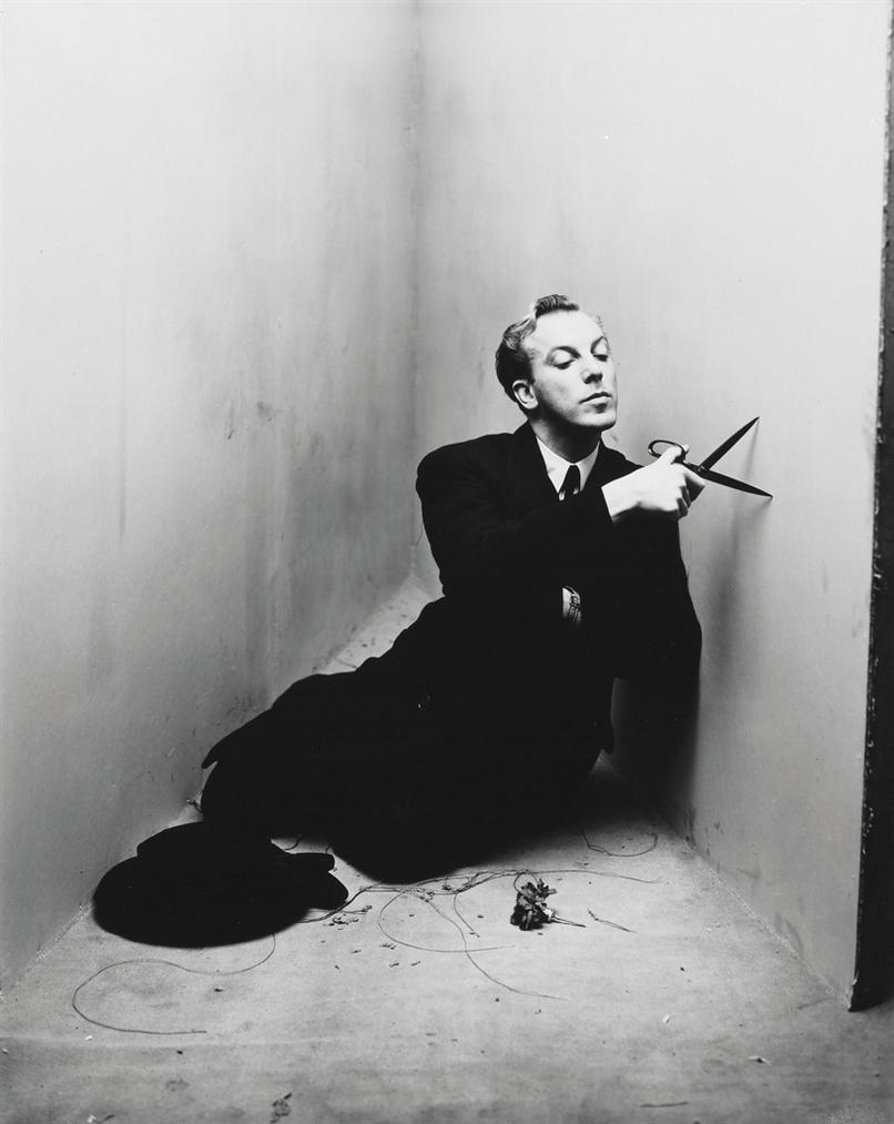 Irving Penn-Jacques Fath, New York, March 26-1948