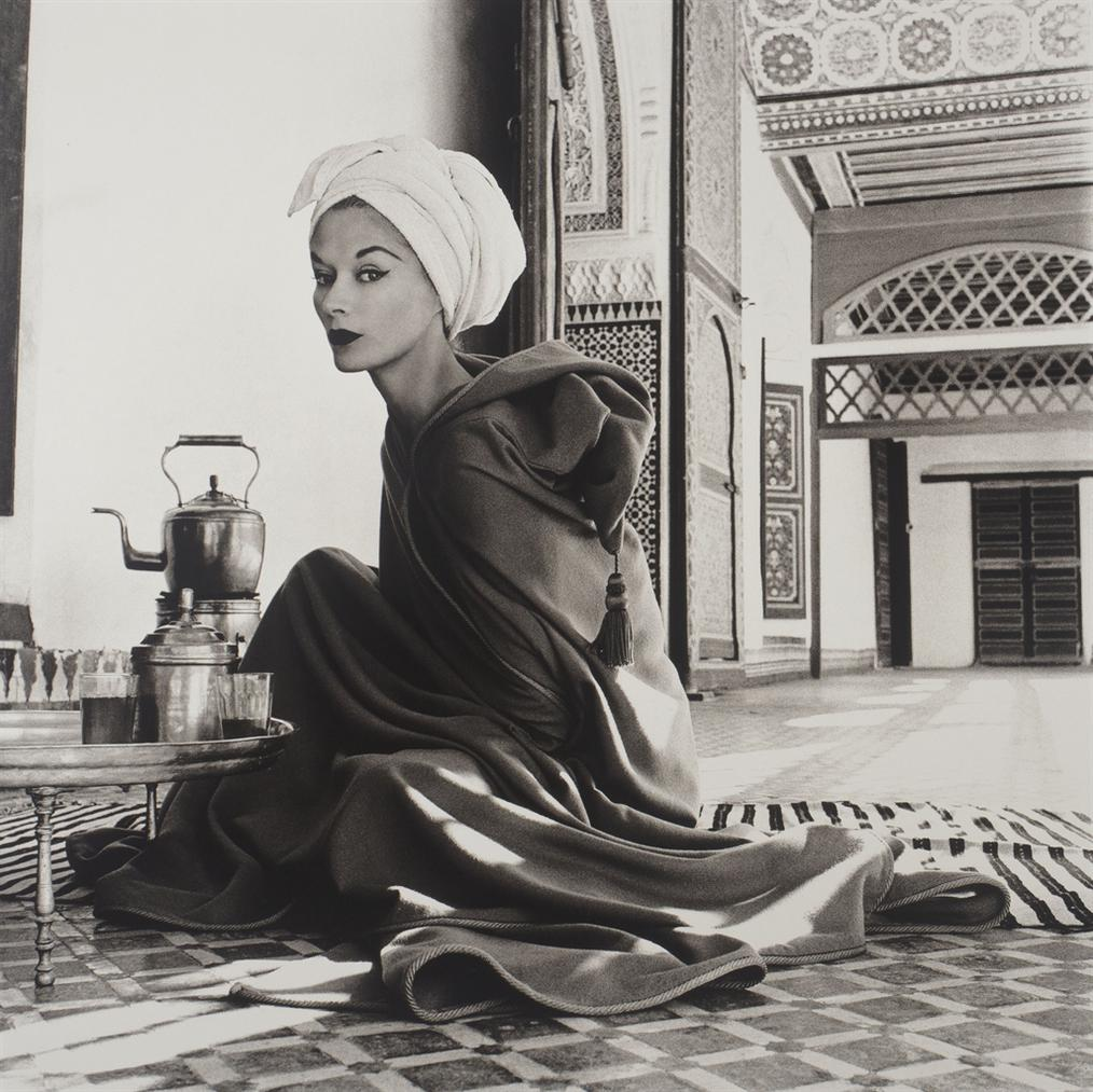 Irving Penn-Woman In Moroccan Palace (Lisa Fonssagrives-Penn), Marrakech-1951