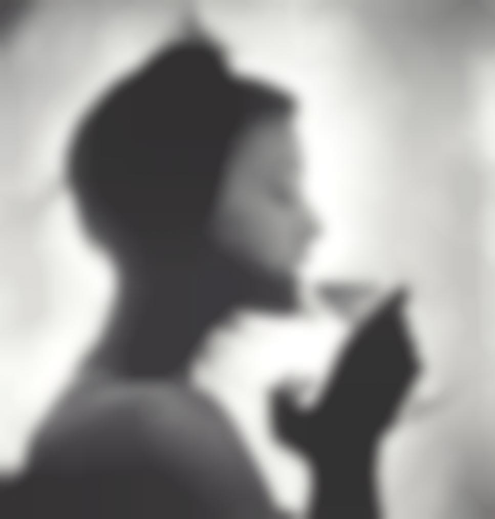 Irving Penn-Girl Drinking (M.J.R.), New York-1949