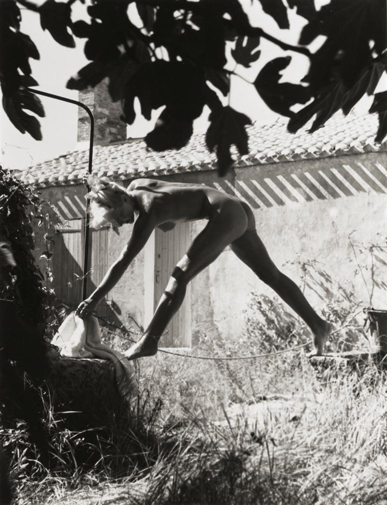 Fernand Fonssagrives-De Lauge Au Puit, Le Bain (Matins De Noirmoutier)-1936