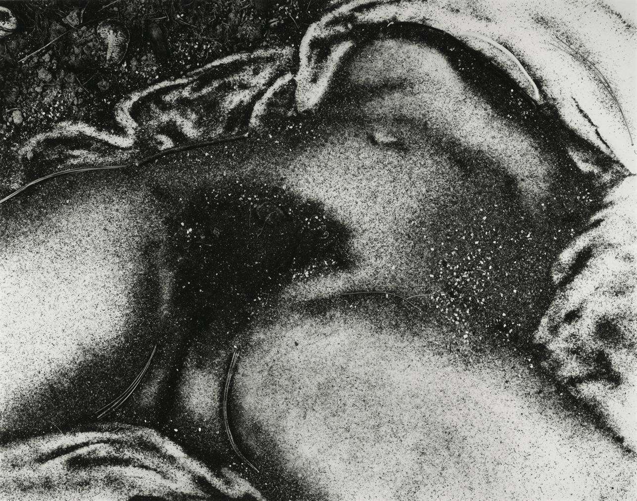 Vik Muniz-The Origin Of The World, After Courbet, From Pictures Of Soil-1999