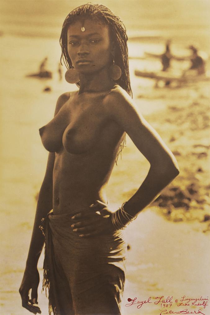 Peter Beard-Fayel Tall At Loingalani, Lake Rudolf, Kenya-1987