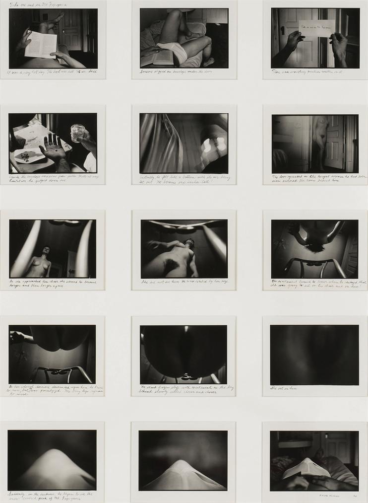 Duane Michals-Take One And See Mt. Fujiyama-1976