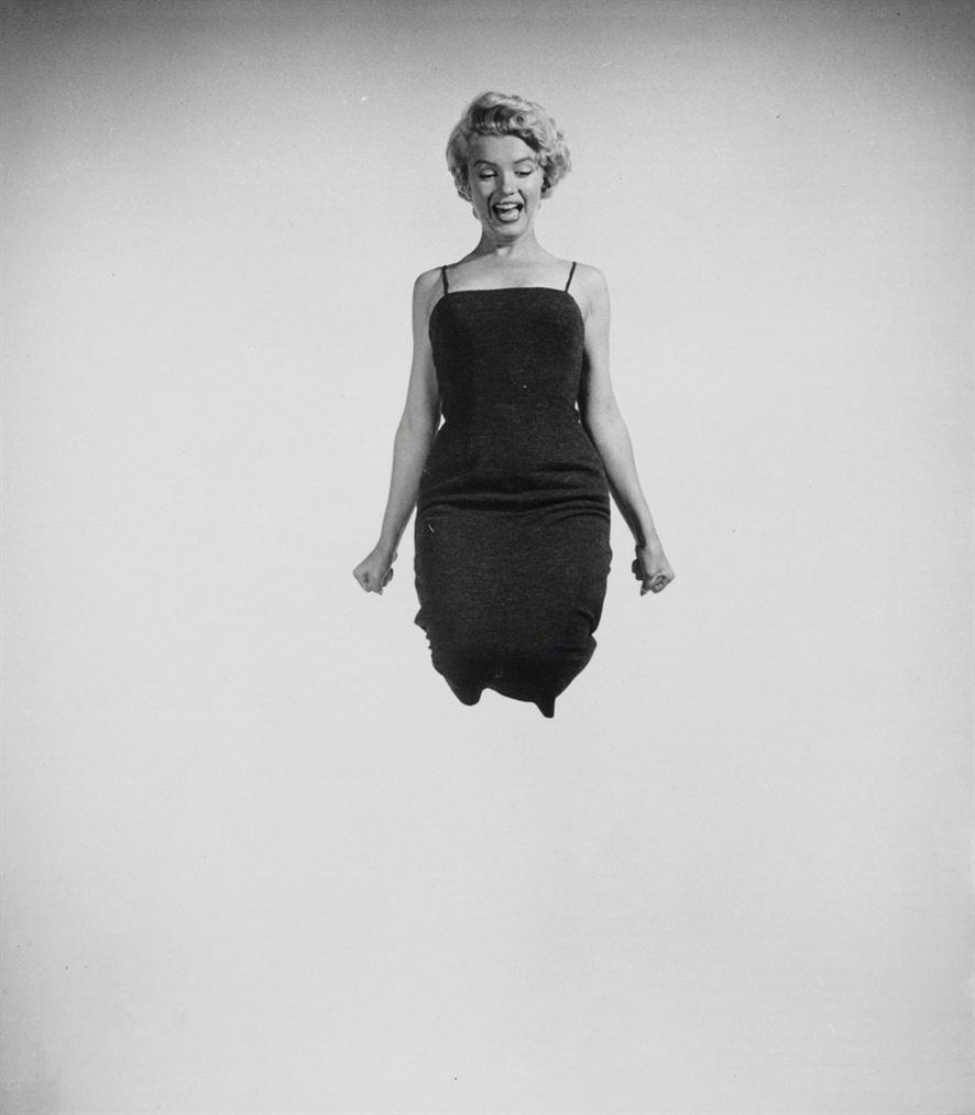 Philippe Halsman-Marilyn Jumping-1954