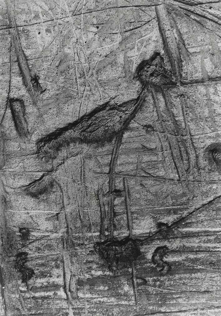 Brassai-Graffiti #130, 1931-1956-
