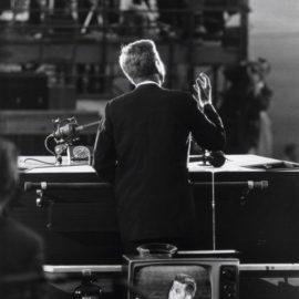 Garry Winogrand-John F. Kennedy, Democratic National Convention-1960