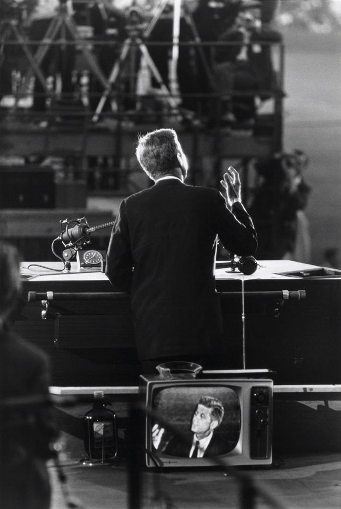 Garry Winogrand-John F. Kennedy, Democratic National Convention-1960