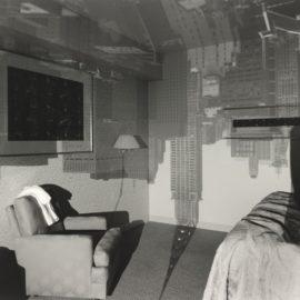 Abelardo Morell-Camera Obscura Image Of Chrysler Building In Hotel Room-1999