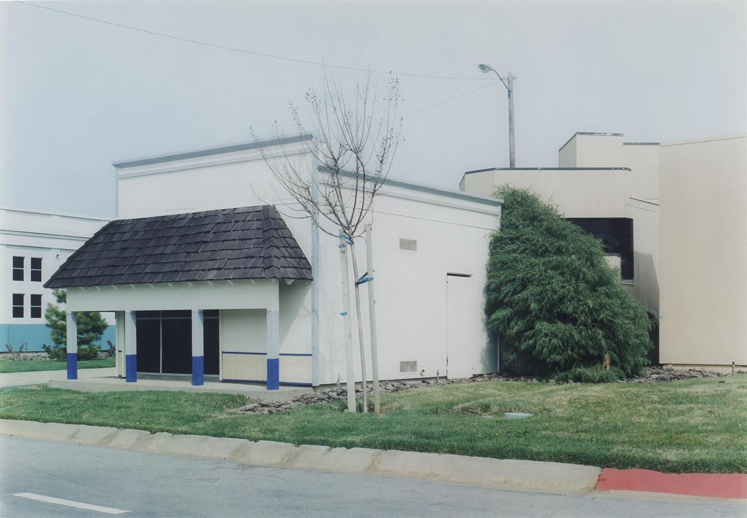 Miles Coolidge - Commercial Buildings (Rear View), From Safetyville, 1994-1996-