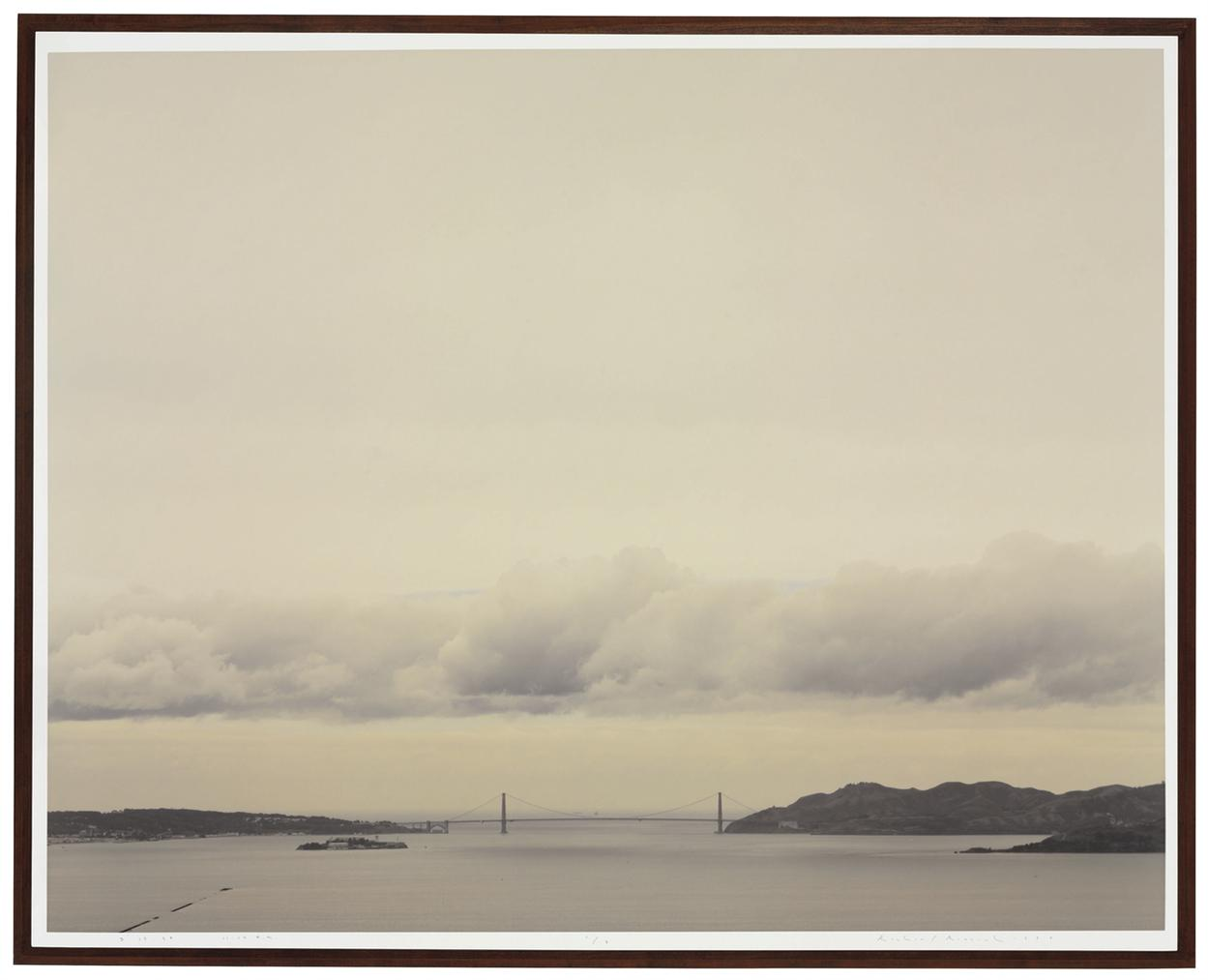 Richard Misrach-Golden Gate Bridge, 3.19.99, 11:14 A.M.-1999