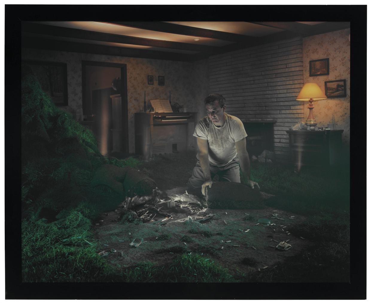 Gregory Crewdson-Untitled (Sod Man)-1999