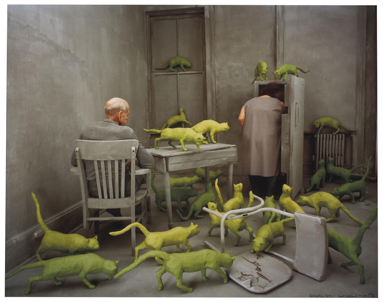 Sandy Skoglund-Radioactive Cats-1980