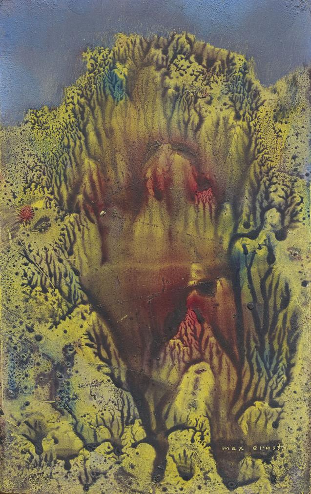 Max Ernst-Sans Titre-1955
