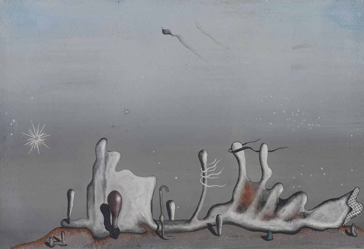 Yves Tanguy-Aupres Des Sables-1936