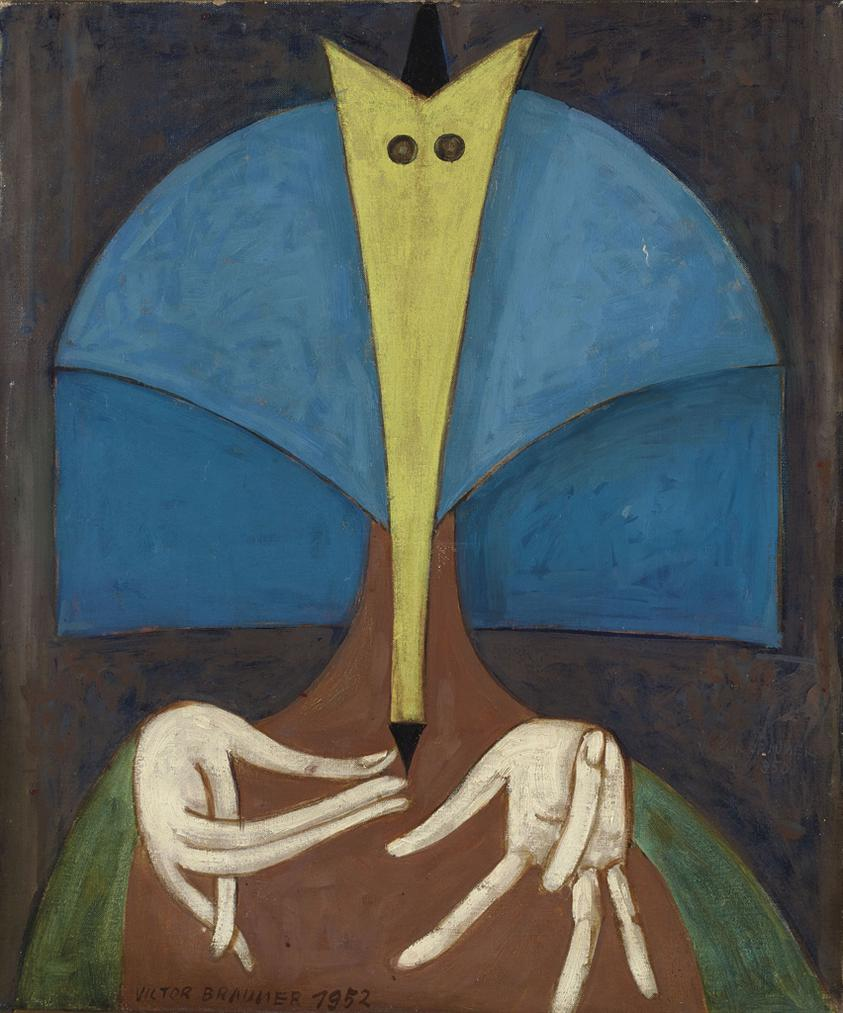 Victor Brauner-Hotesse-1952