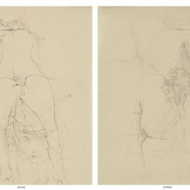 Hans Bellmer-Sans Titre, Etude Pour Lhistoire De Loeil De Georges Bataille (Recto/Verso)-1946
