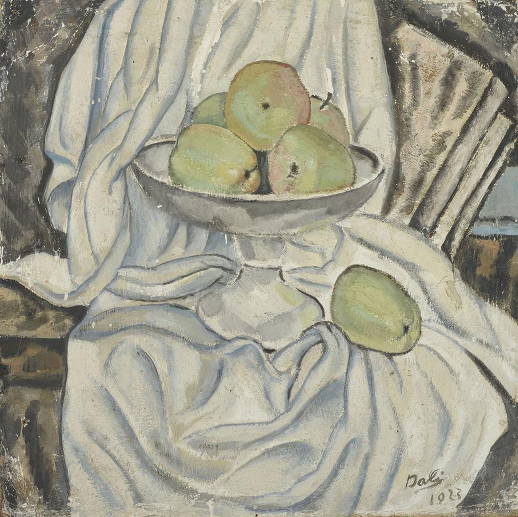 Salvador Dali-Nature Morte Aux Pommes-1923