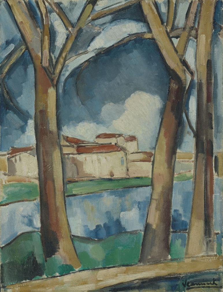 Maurice de Vlaminck-Paysage-1912