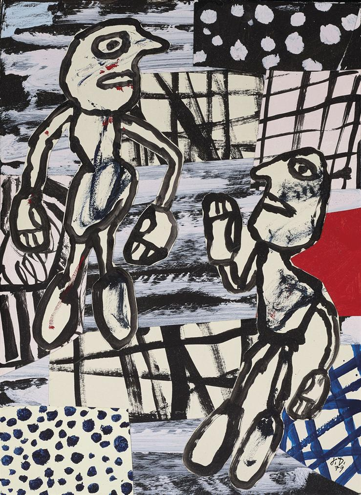 Jean Dubuffet-Sequence V-1979