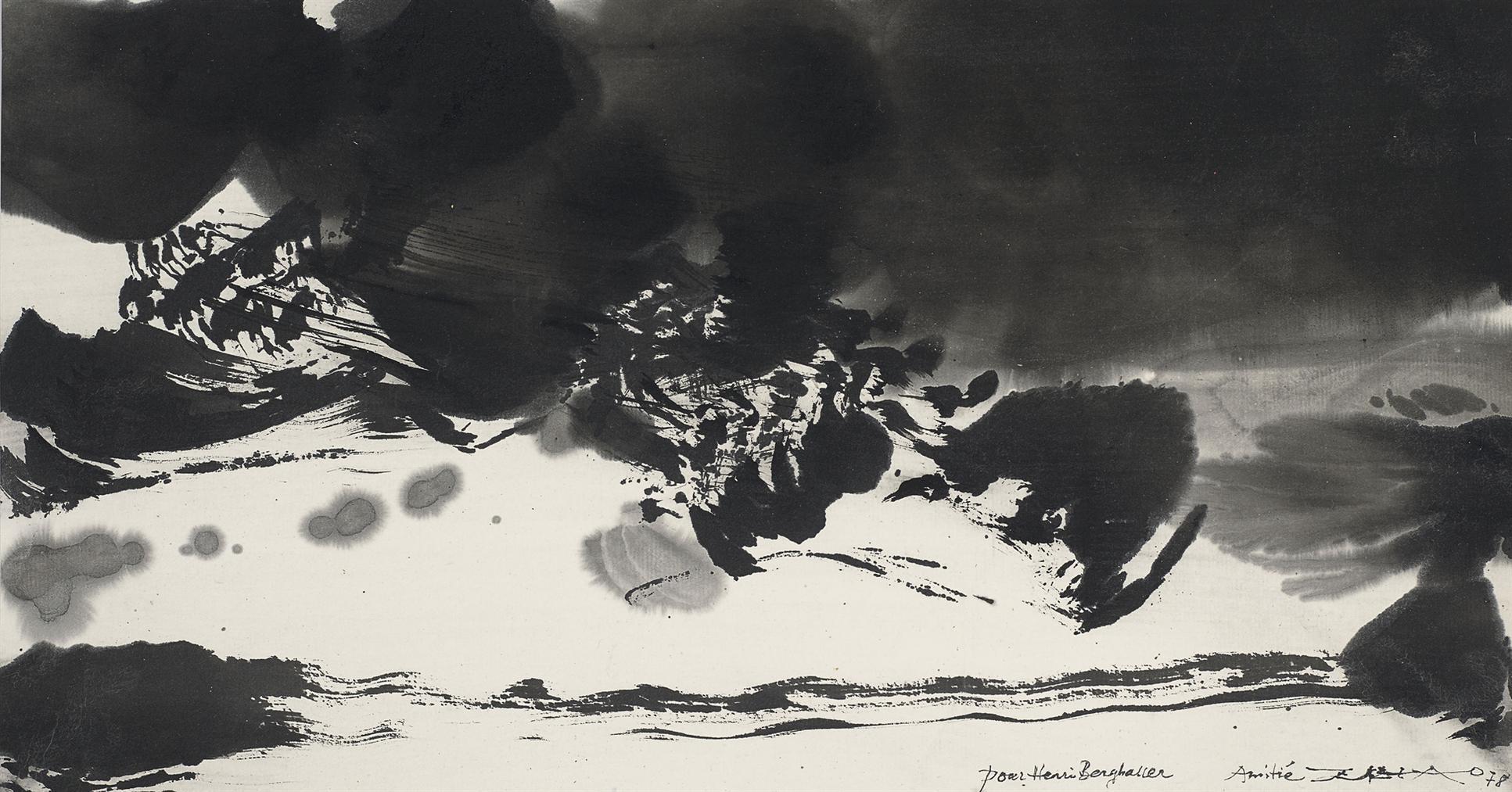 Zao Wou Ki - Sans Titre-1978