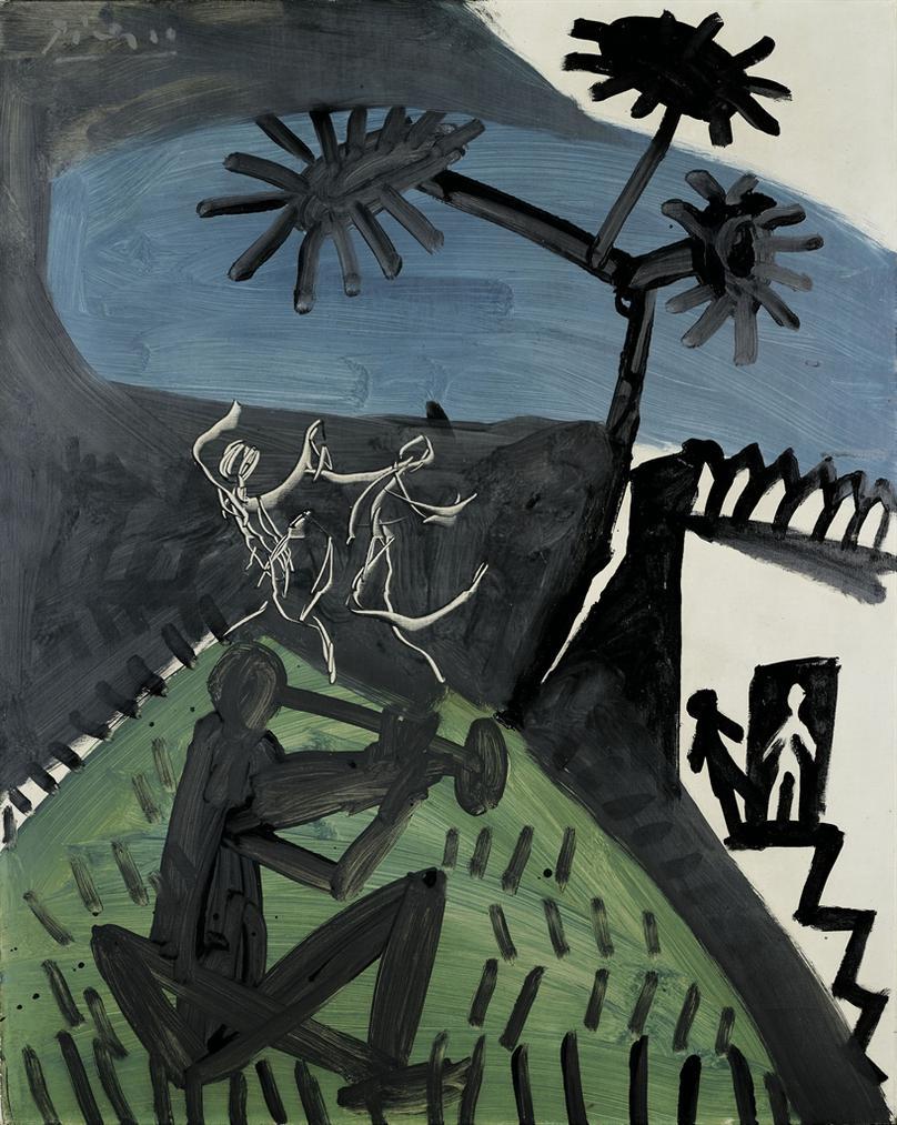 Pablo Picasso-La Danse-1956