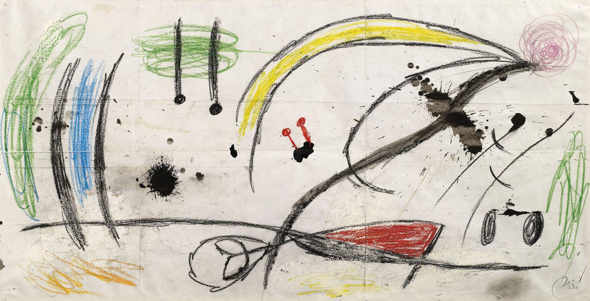 Joan Miro-Paysage-1975