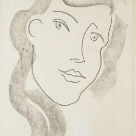 Henri Matisse-Tete De Femme-1944