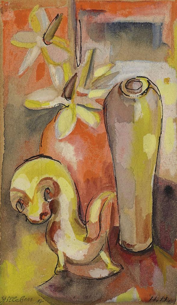 Hannah Hoch-Stilleben-1914