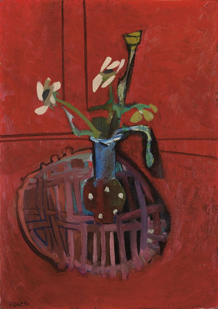 Francoise Gilot-La Fleur-1958
