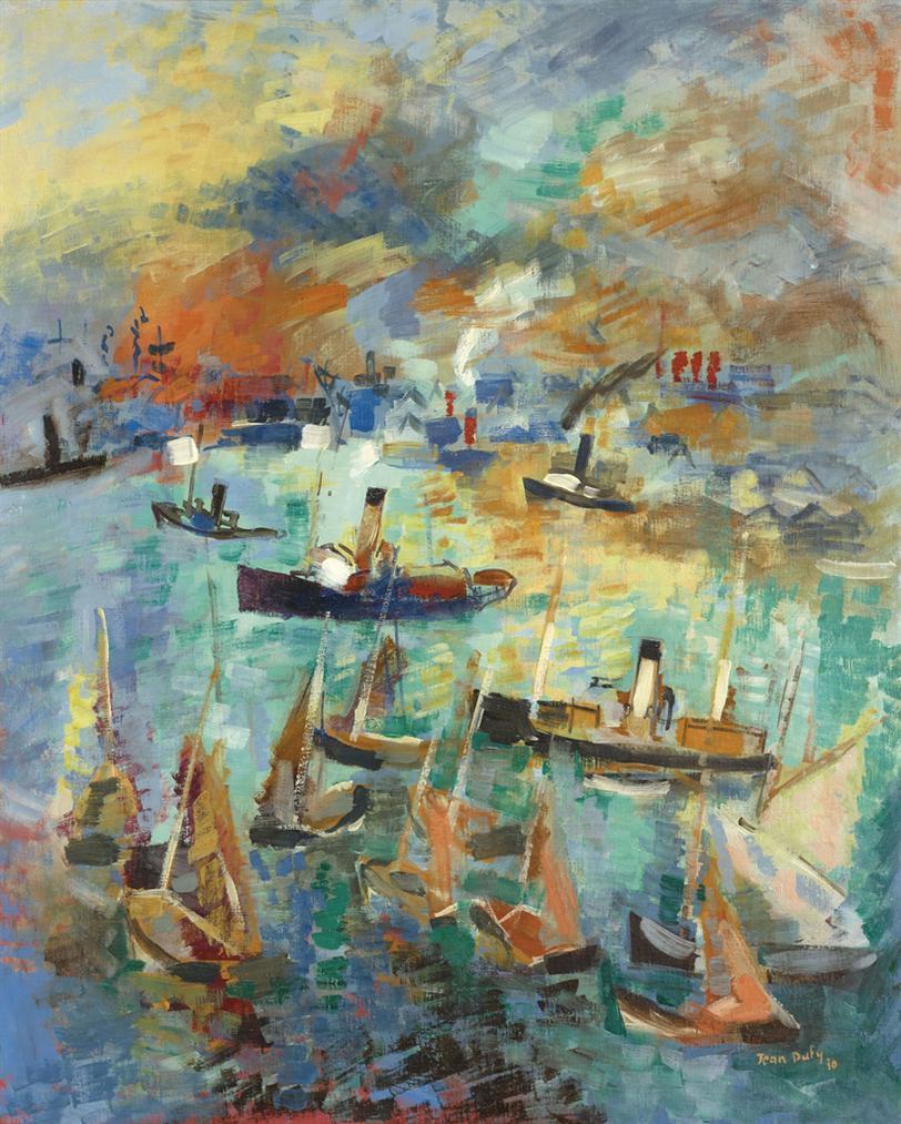 Jean Dufy-Le Havre-1930