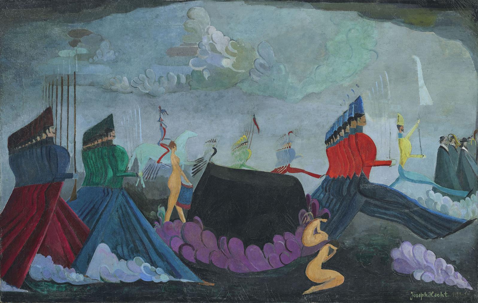 Joseph Hecht - Sinfonia Eroica, Marche Funebre-1922