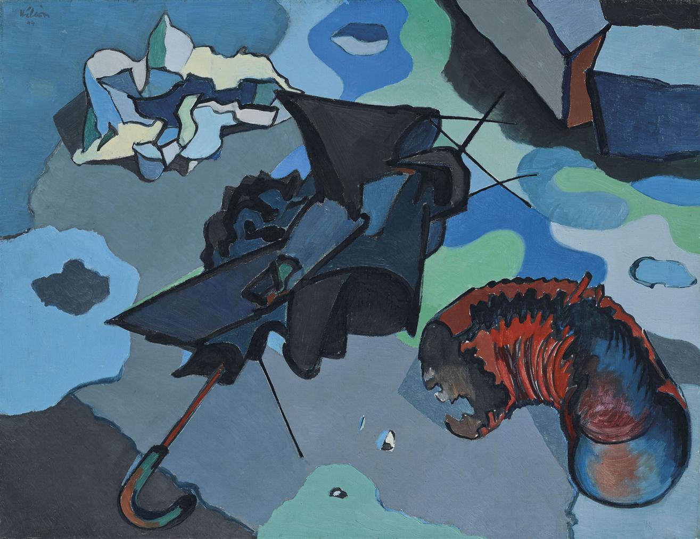 Jean Helion-Nature Morte A La Flaque Deau-1944