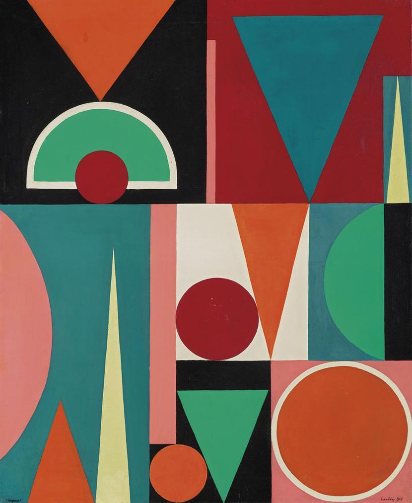 Auguste Herbin-Impasse-1947
