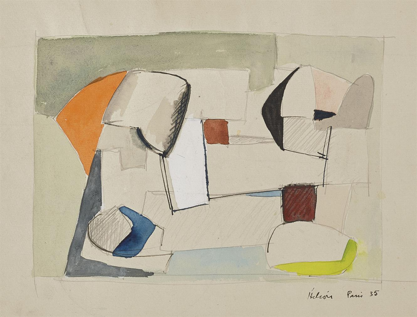 Jean Helion-Equilibre-1935