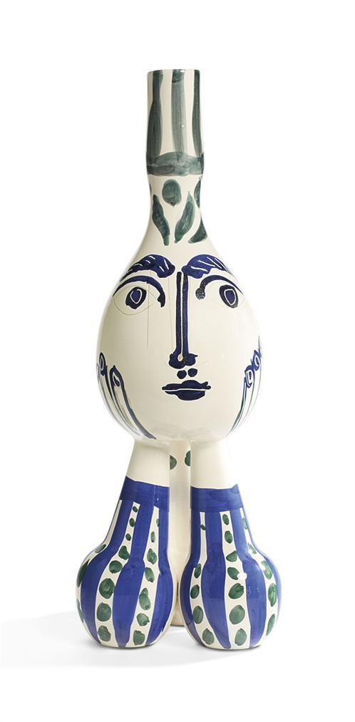 Pablo Picasso-Tripode (A.R. 125)-1951