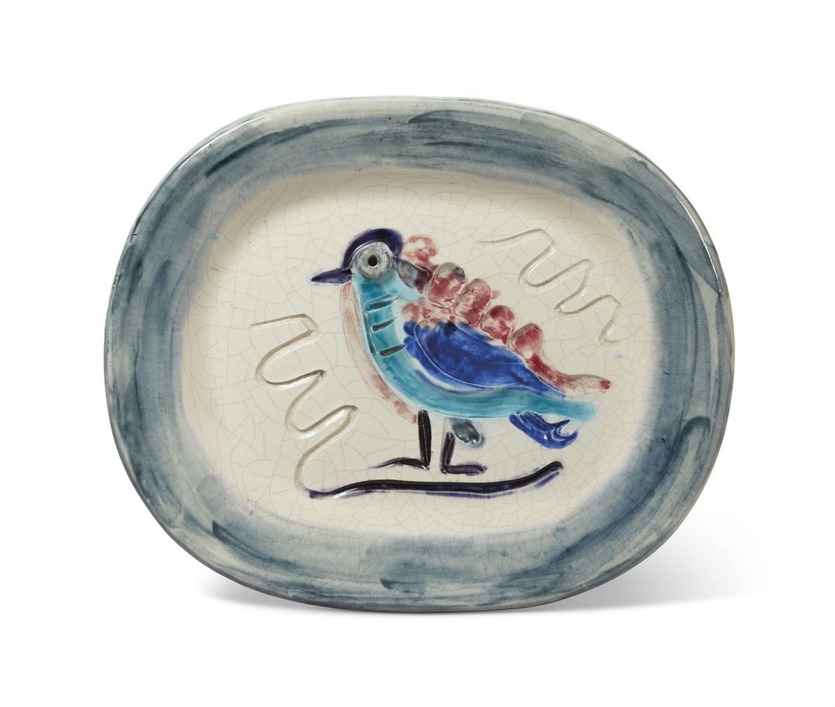 Pablo Picasso-Oiseau Polychrome (A.R. 33)-1947