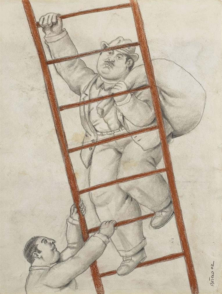 Fernando Botero-Deux Hommes-2002