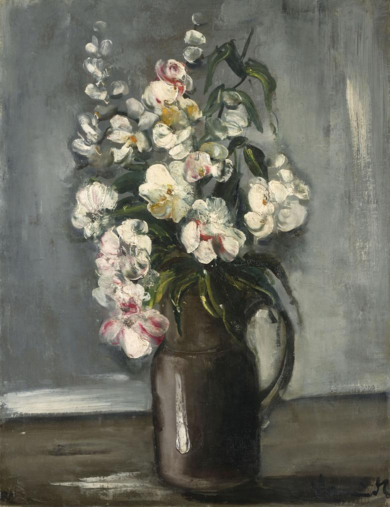 Maurice de Vlaminck-Bouquet De Fleurs-1925