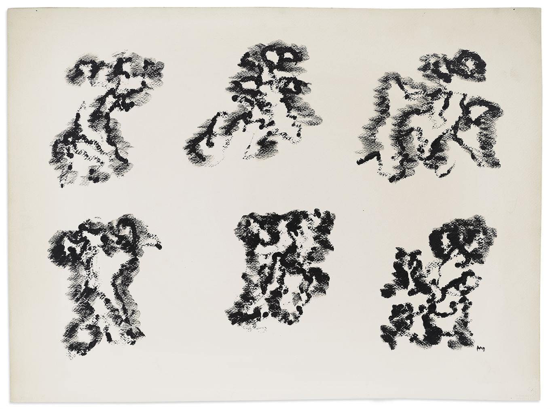 Henri Michaux-Sans Titre-1967