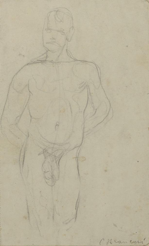 Constantin Brancusi-Etude De Nu Masculin-1907