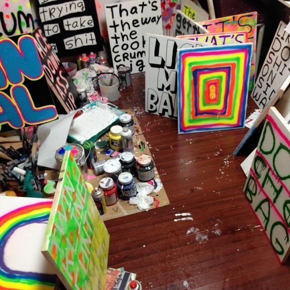 Madsaki's exhibition